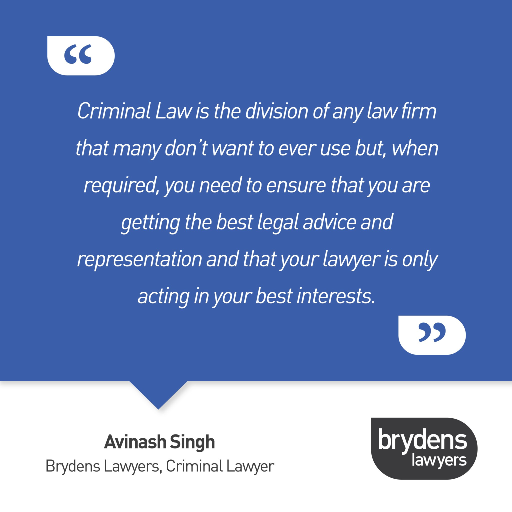 , Criminal Law, Brydens Lawyers