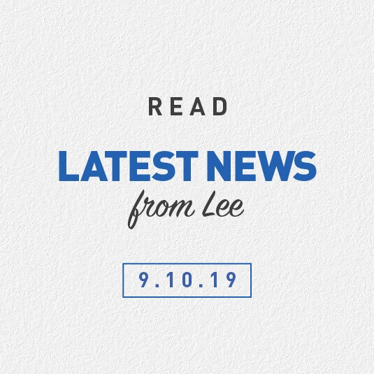Latest News From Lee 09th October 2019 – Brydens Lawyers Flames Community Program