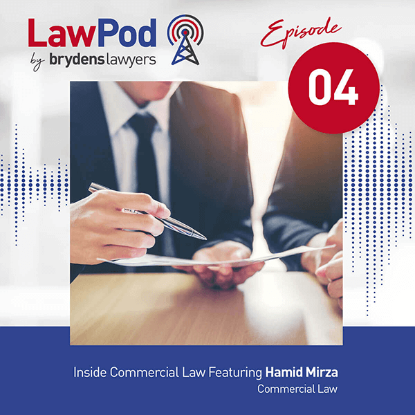 Inside Commercial Law Featuring Hamid Mirza