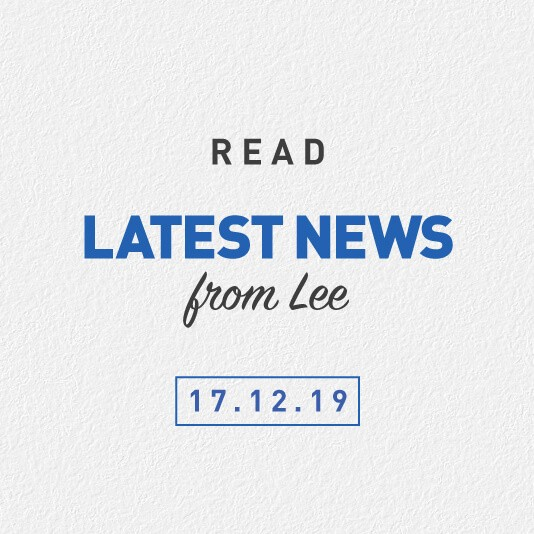 Latest News From Lee 17th December 2019 – Workers Compensation Scheme Investigation