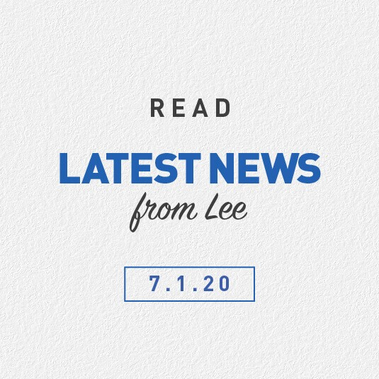 Latest News From Lee 07th January 2020