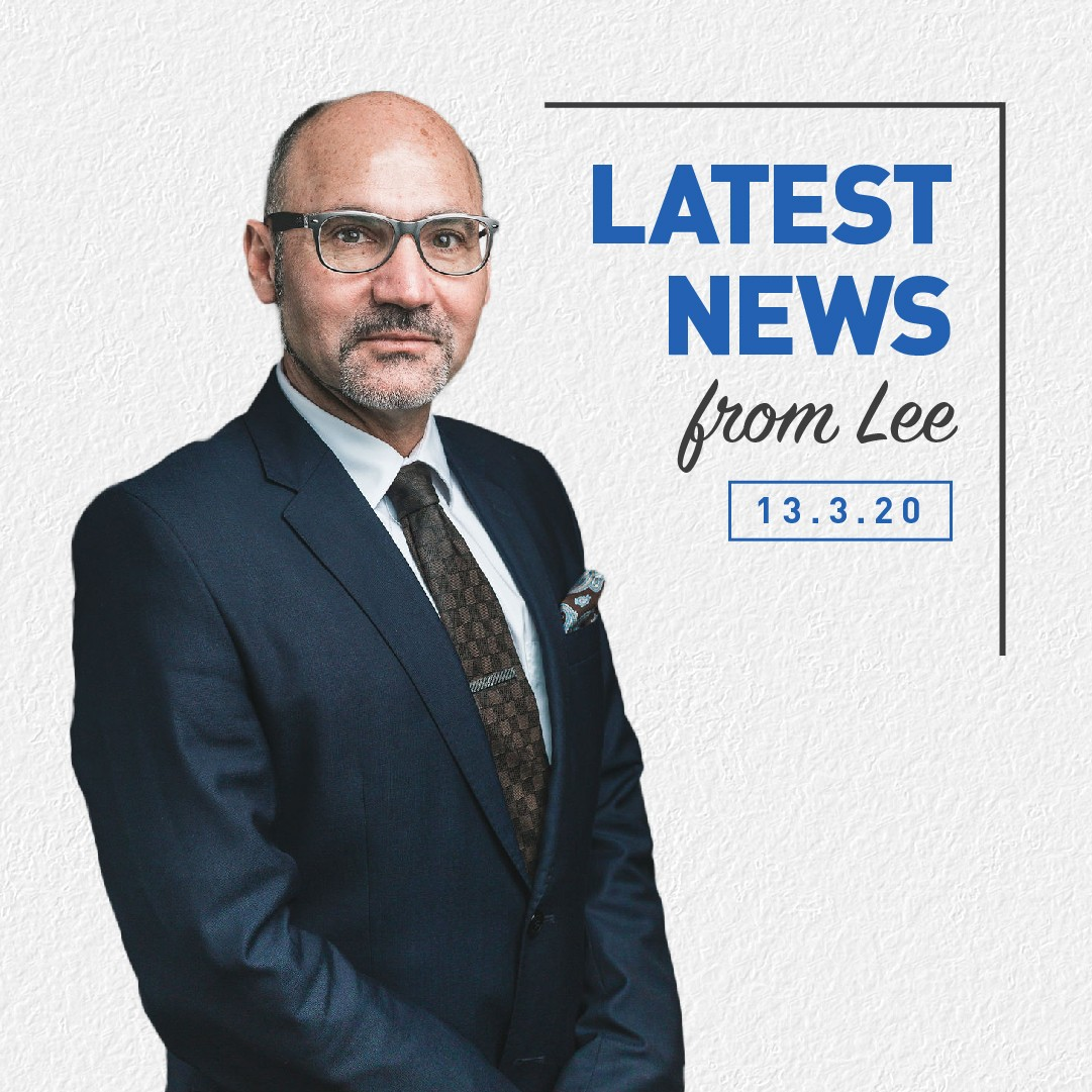 , Latest News From Lee 13th March 2020, Brydens Lawyers
