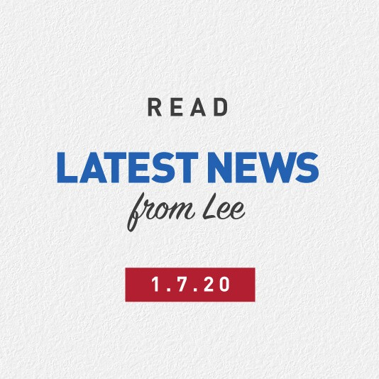 Latest News From Lee 1st July 2020