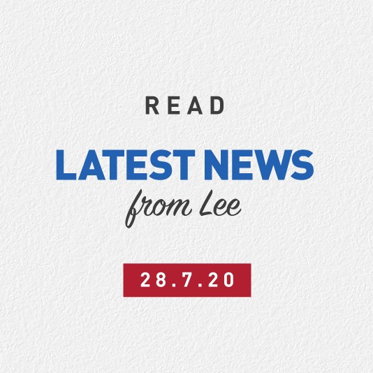 Latest News From Lee 28th July 2020