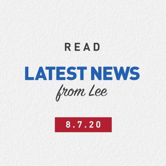 Latest News From Lee 8th July 2020
