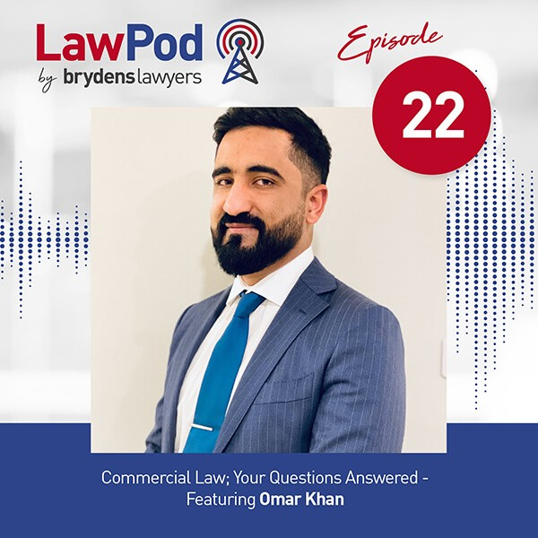 Lawpod – Commercial Law; Your Questions Answered- Featuring Omar Khan