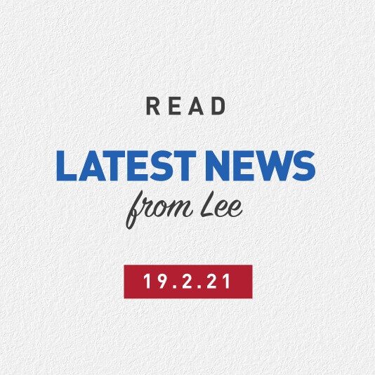 Latest News From Lee 19th February 2021 – Medical Negligence