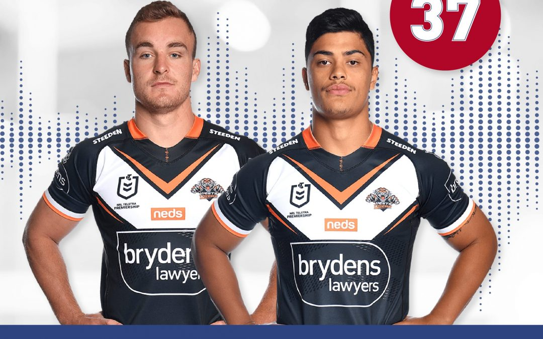 Lawpod – In this week's edition of LawPod; Lee is joined by Wests Tigers players Tommy Talau and Jacob Liddle!