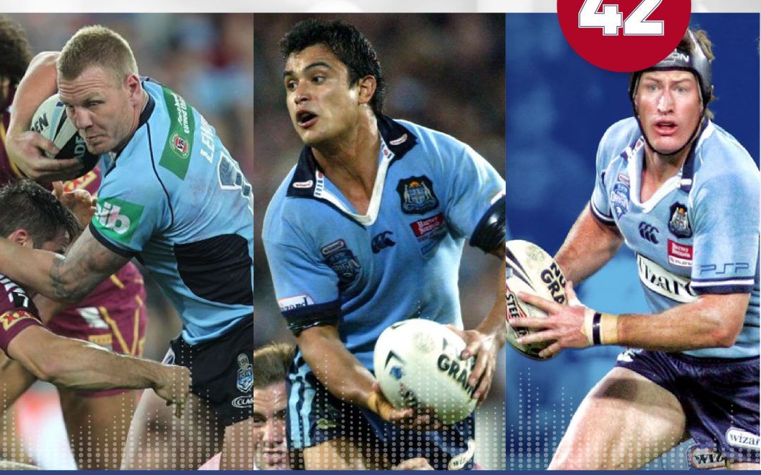 NSW Blues Legends Podcast! (Part #2)- Featuring Luke Lewis, Craig Wing, and Steve Menzies